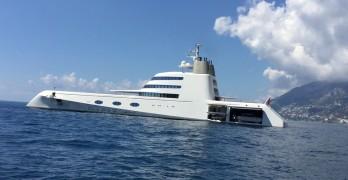 """A"" il mega yacht da 20 milioni di Dollari"