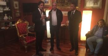 SOLOFRA: Il Consigliere D'Urso incontra l'On. Carlo Giovanardi (VIDEO)