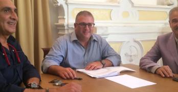 AUDIO Conferenza Stampa del Sindaco di Solofra Michele Vignola 18.09.15