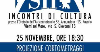 """Vietri sul mare, Venerdì 25/11/16 i """"Corti del Solofra Film Festival"""" protagonisti de """"La Congrega Letteraria"""""""