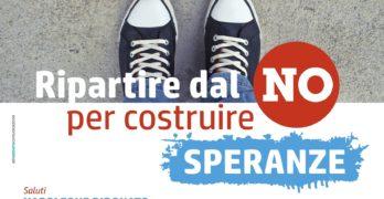 """Solofra, il 9/01 il confronto promosso dall'UDC """"Ripartire dal NO per costruire speranze"""""""