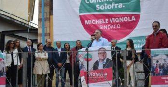 """Ecco la Giunta comunale di Solofra, dell'amministrazione """"Vignola Bis""""."""