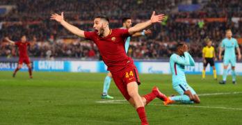 Champions: impresa Roma, rimonta 3 goal e vola in semifinale