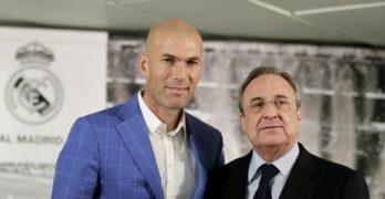 Calcio, Zidane lascia la panchina del Real Madrid. Cambiamento radicale in vista