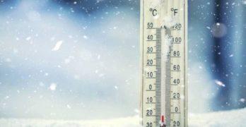 Il 2019 inizia col freddo, previste temperature in picco