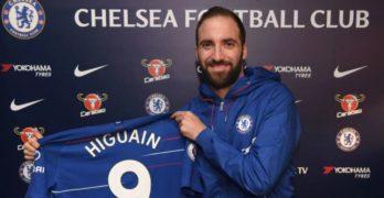 È la fine di una telenovela, Higuain è un nuovo giocatore del Chelsea