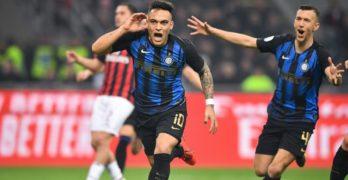 L'Inter riacquista il terzo posto, batte nel derby il Milan di Gattuso