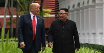 Trump entra nella storia, primo presidente americano in Corea del Nord