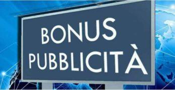 """""""Bonus Pubblicità"""", reso definitivo il credito d'imposta per investimenti in pubblicità"""