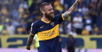 Calcio, De Rossi appende le scarpette al chiodo