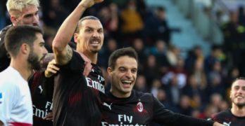Il Milan ha di nuovo il suo Dio, ritorna alla rete Zlatan Ibrahimović