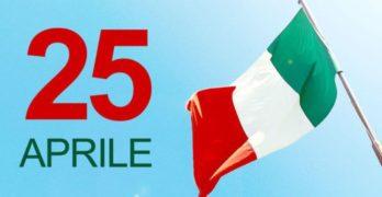 25 aprile 2020, 75°anniversario della liberazione d'Italia
