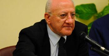 La Campania come Fort Knox, De Luca minaccia di chiudere la Regione a doppia mandata