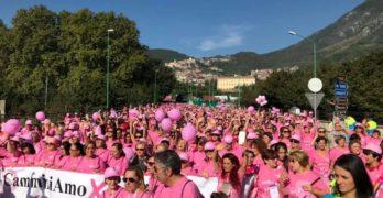 Avellino, torna la Camminata Rosa VII edizione